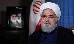 Irānas prezidents nosoda ASV 'psiholoģisko karadarbību'
