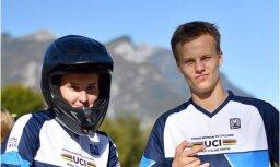 Trīs Latvijas BMX sportisti aizvadījuši UCI talantu nometnes testus