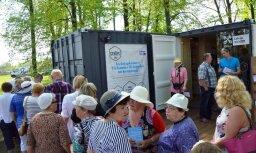 Mobilās kultūrtelpas 'Strops' Rīgā turpinās darboties arī nākamgad