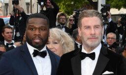 Interneta sensācija: Travolta dricelējas 50 Cent koncertā