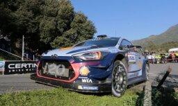 Nevils pēc otrās uzvaras sezonā pārņem vadību WRC kopvērtējumā