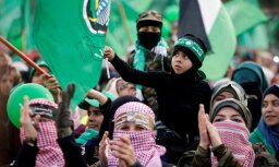 Foto: Saspringtā situācija reģionā neliedz 'Hamas' svinēt 30 gadu jubileju