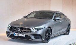 Pirmie attēli ar jauno 'Mercedes-Benz CLS' modeli
