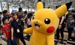 Желтая милота: По улицам Йокогамы бродят 15 тысяч огромных пикачу