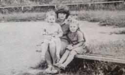 Linda Leen publisko apburošu bērnības dienu foto