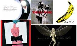 Kad iepakojums tikpat vērtīgs cik saturs. 10 albumu vāciņi, ko radījuši lieliski mākslinieki