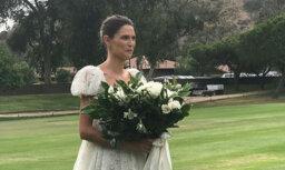Romantiski foto: Dolčes un Gabanas mūzas sapņu kāzas Kalifornijā