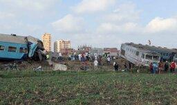 Столкновение поездов на севере Египта: десятки погибших