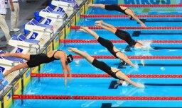 Talantīgā peldētāja Maļuka par teju divām sekundēm pārspēj Latvijas rekordu 400 metros brīvajā stilā
