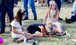 Foto: Īstās britu lēdijas uzveic alkohols
