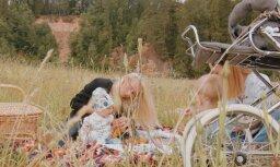 Rūta Dvinska rīko pikniku 'Mangaļi' dižvietā pie Zvārtes ieža
