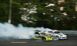 Drifta braucējs Blušs 'Formula Drift' sezonu noslēdz 14. vietā
