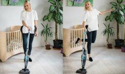 """Кристине Вирсните: """"Даже моя дочка стала участвовать в уборке дома"""""""