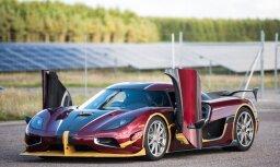 Video: 'Koenigsegg' pārspējis jauno 'Bugatti' rekordu 0-400-0 km/h disciplīnā