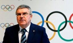 Bahs atbalsta vienotas Korejas komandas ideju 2018. gada olimpiskajās spēlēs
