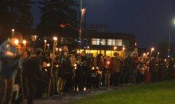 18. novembra svinības Latvijas pilsētās - aculiecinieku foto un video (papildināts 14:19)