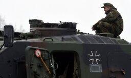 Бундесвер направит 8 000 солдат и 100 танков на крупные маневры НАТО