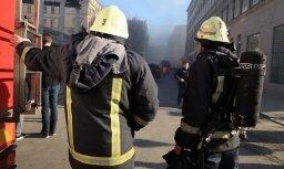 За минувшие сутки в Латвии было потушено восемь пожаров