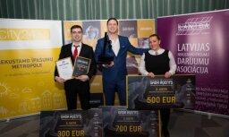 Konkursā 'Gada aģents 2017' noskaidroti Latvijas labākie nekustamā īpašuma aģenti