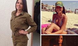 Foto: Seksīgās un skaistās Izraēlas armijnieces