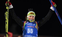 Baltkrievijas biatloniste Skardino paziņo par karjeras beigām