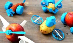 Сделай сам: скачиваемый набор из 14 вещей превращает овощи в веселые игрушки