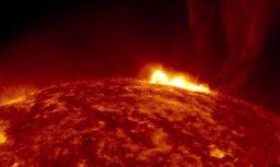Video: NASA nofilmējusi 'Sātana spļāvienu' uz Saules