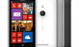 Jauns viedtālrunis ar 'gudro' fotokameru 'Nokia Lumia 925'