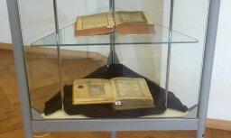 Nacionālās bibliotēkas ēkā var apskatīt senas grāmatas vecajā drukā
