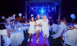 'Silene Resort & SPA' aizvadīts 'Baltais vakars' zem atklātām debesīm