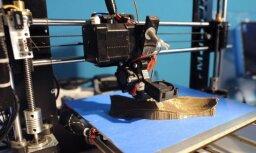 Atsevišķas detaļas lokomotīvēm turpmāk printēs ar 3D printeru palīdzību