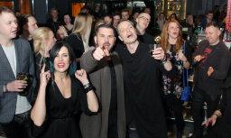 Foto: Mūzikas zvaigznes līksmo 'X Faktora' nakts ballītē