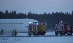 Попавший в аварию самолет Smartlynx совершил посадку с остановившимися двигателями