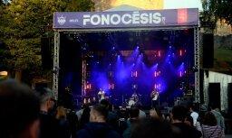 Foto: Brīvdabas festivāla 'Fono Cēsis' pirmā diena