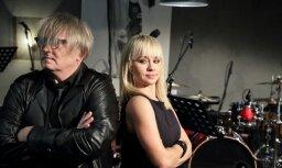 Foto: Aija Andrejeva draugu, radu un kolēģu pulkā prezentē jauno albumu