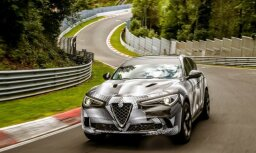 Video: 'Alfa Romeo Stelvio' kļuvis par visātrāko apvidnieku Nirburgringas trasē