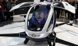 Dubaijā vasarā pasažierus sāks pārvadāt droni