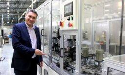 В Риге запущен первый в странах Балтии подшипниковый завод компании Baltic Bearing Company