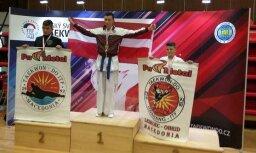 Arsenijs Elksnins taekwondo