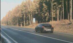 Новый фоторадар в первый же день зафиксировал лихача на Porsche
