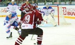 Rīgas 'Dinamo' piedzīvo 'sauso' zaudējumu Toljati