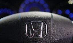 Honda отзовет почти 5 млн. автомобилей из-за дефекта подушек безопасности