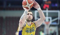 'Ventspils' basketbolisti pārvar 'Ogres' pretestību un sasniedz LBL finālu