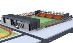 История дня. Все, что мы знаем о новом стадионе в центре Риги