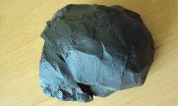 Aculiecinieks: Rīgas rajonā, Dārziņos, atradu meteorītu