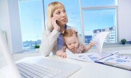 Aptauja: mazāk nekā puse strādājošo uzskata savu darbavietu par ģimenei draudzīgu