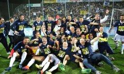 Leģendārā 'Parma' bez Zommera sastāvā nodrošina atgriešanos Itālijas A sērijā