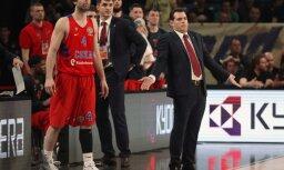 CSKA head coach Dimitrios Itoudis