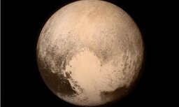 Vēstījums no kosmosa - tapis unikāls Plūtona foto