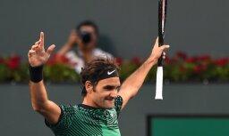 ATP sezonas noslēguma turnīrs: Federeram 50. uzvara sezonā, Zverevs debitē ar uzvaru
